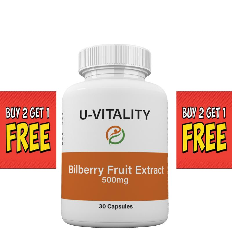 Bilberry Fruit Extract 500 mg