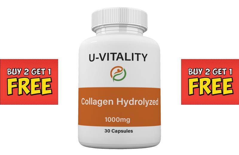 Hydrolyzed Collagen 500 mg