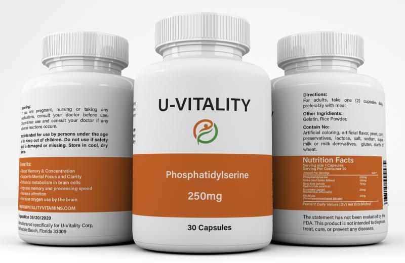 Phosphatidylserine Memory  250 mg