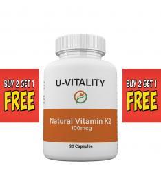 Natural Vitamin K2 100 mcg